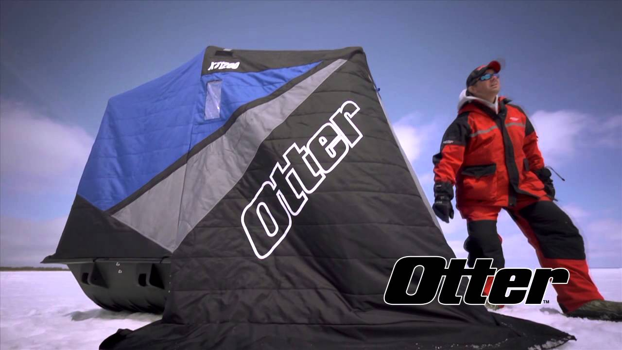 Otter Ice Shelters Offer Thermal Protection, Comfort