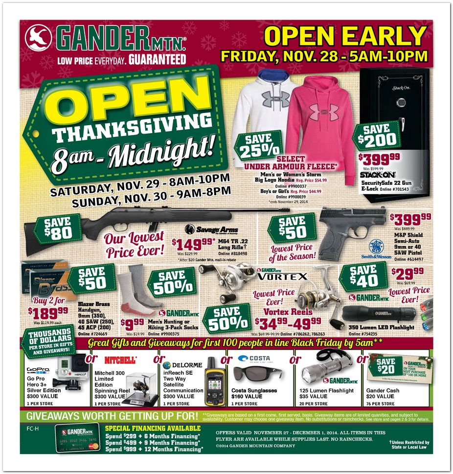 Gander mountain black friday ad 2014 american angling for Black friday fishing deals